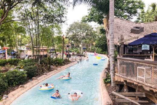 Guide to H20 Glow Nights at Typhoon Lagoon Lazy River