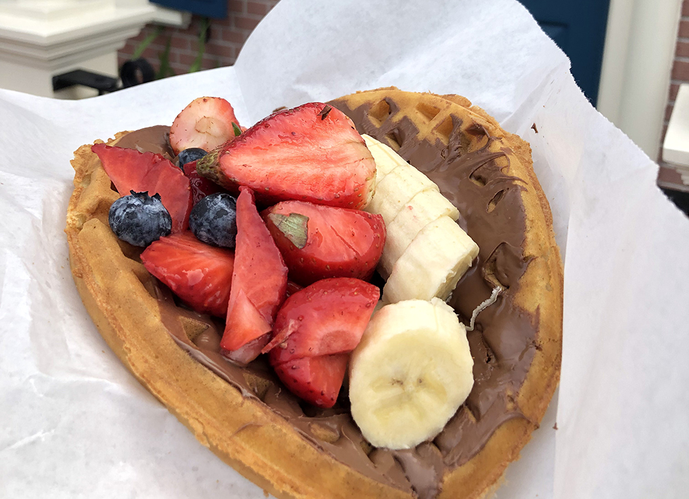 Eating on a budget at Disney World Waffle Sandwich
