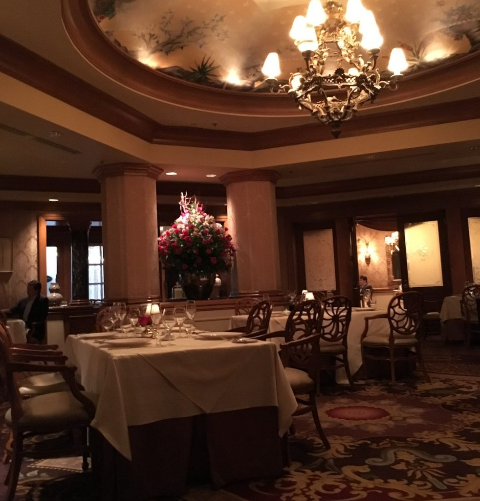 What dining rooms are at Victoria & Alberts?
