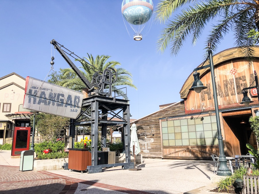 Disney Springs Pub Crawl Jock Lindsey Hangar Bar