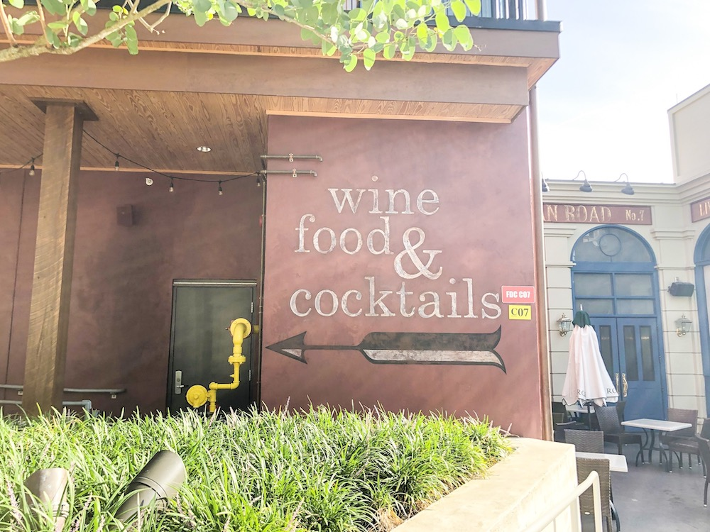 Disney Springs Bar Crawl Wine Bar George