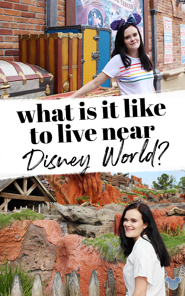 What's it like to live near Disney World?