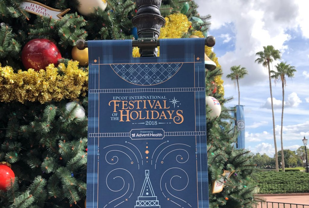Disney World Festival of the Holidays