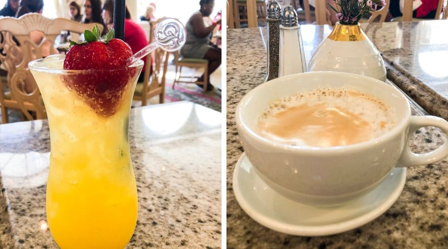 Grand Floridian Cafe Drinks