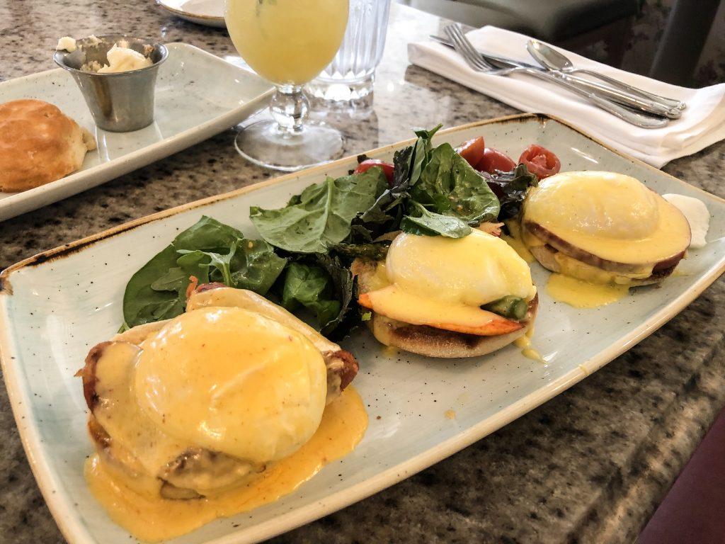 Grand Floridian Cafe Benedict Flight