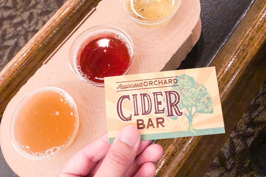 Cider Bar Epcot Food and Wine Festival