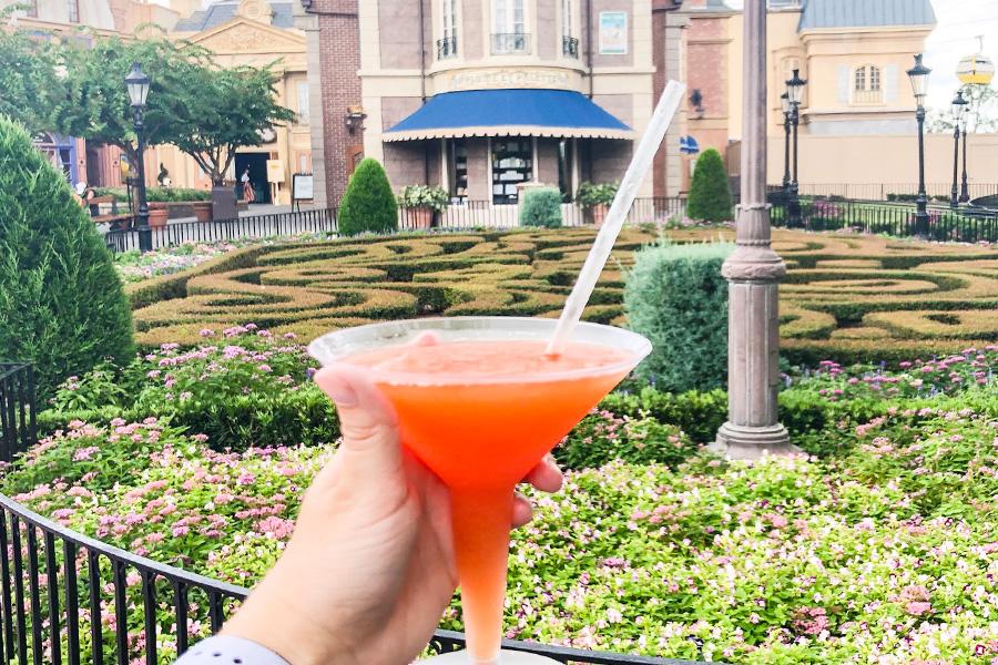 Martini Slushi Epcot Food and Wine Festival