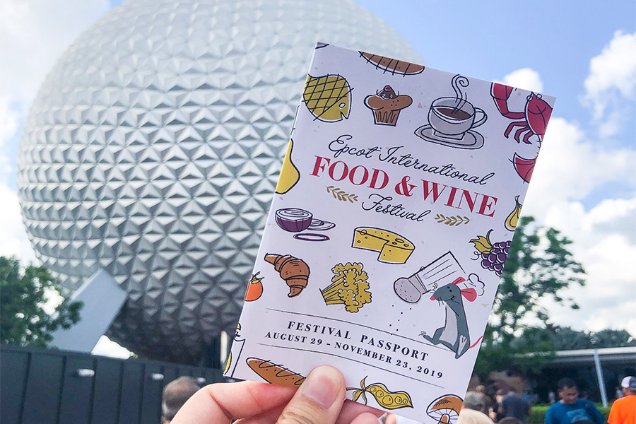 Epcot Food and Wine Festival Tips Booklet
