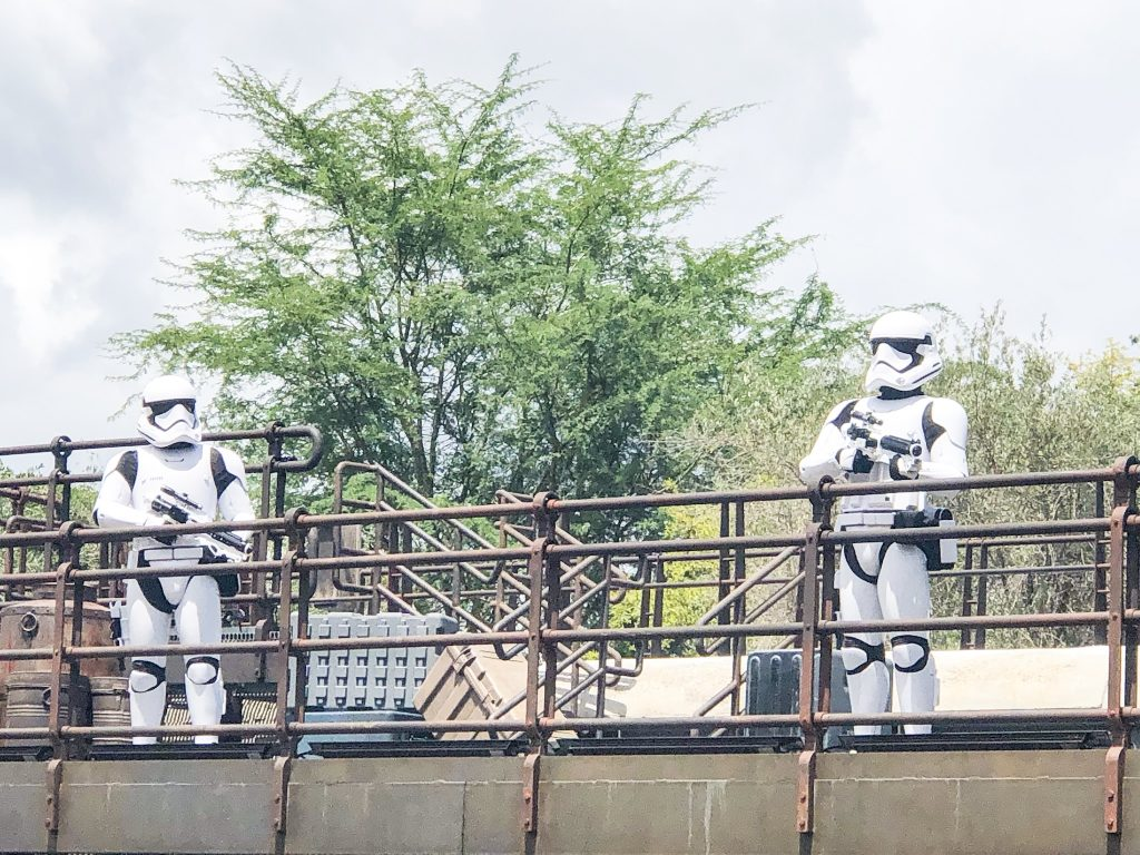 Star Wars Galaxy's Edge Storm Troopers