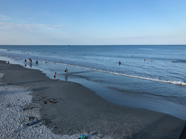 Cocoa beach, Florida coastline